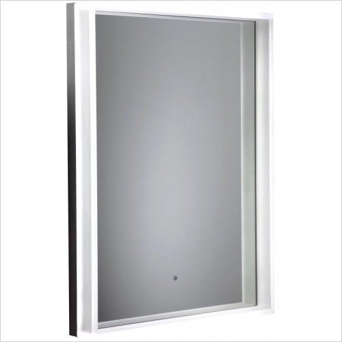 Roper Rhodes Accessories - Aura Illuminated Framed Mirror 500 x 700 x 90mm