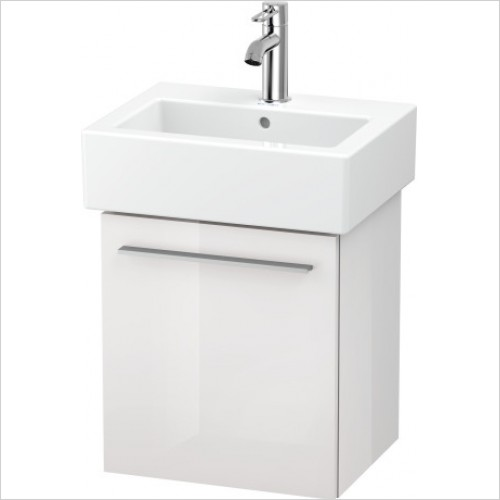 Duravit Furniture - X-Large Vanity Unit Wall Mounted  - White High - Left Handed