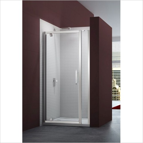 Merlyn Shower Enclosures - 6 Series Pivot Door & Inline Panel 785-860mm