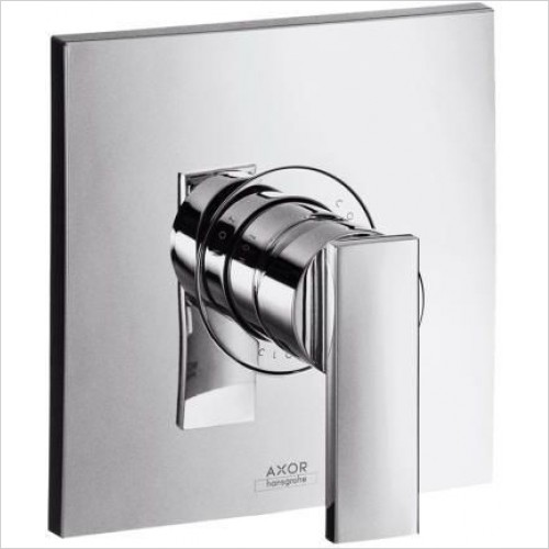 Axor Showers - Citterio Finish Set Single Lever Bath Or Shower Mixer